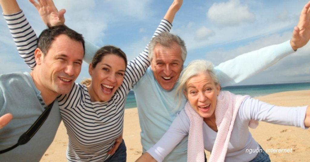 Đi du lịch cùng ba mẹ