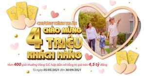 Bảo hiểm nhân thọ Dai ichi Life việt nam - Chương trình tri ân 4 triệu khách hàng