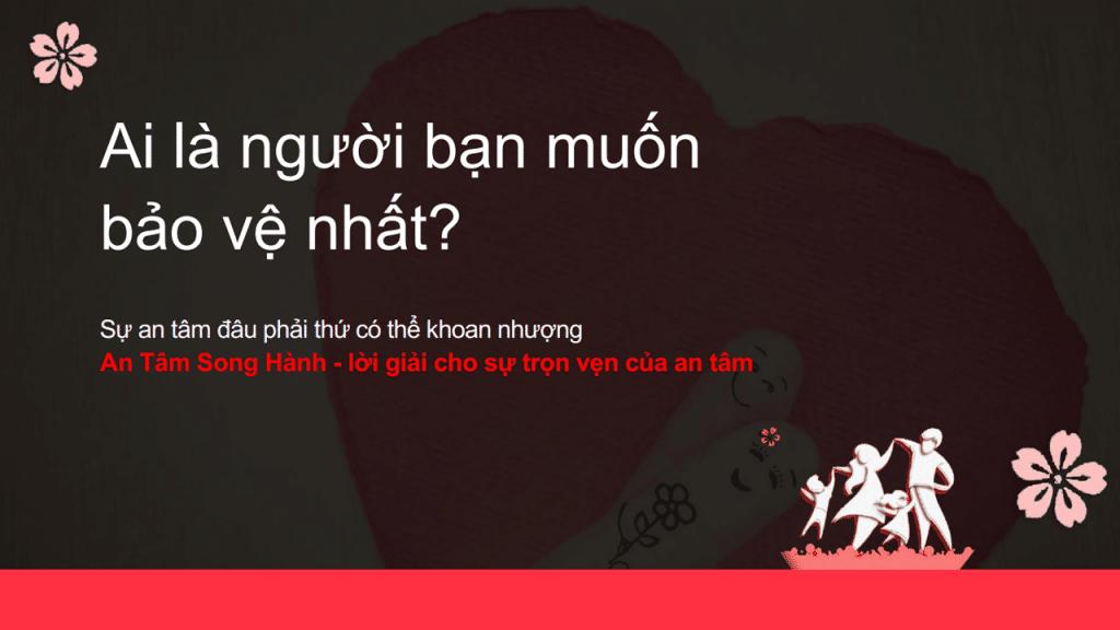 an tâm song hành - sản phẩm của dai ichi life việt nam bảo vệ đến năm 100 tuổi