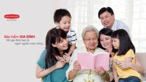 bảo hiểm gia đình, an tâm song hành, sản phẩm của dai ichi life việt nam, bảo vệ đến 100 tuổi