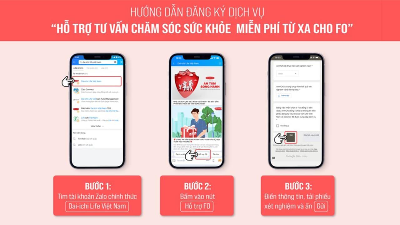 Hướng dẫn tư vấn Dai ichi Life Việt Nam